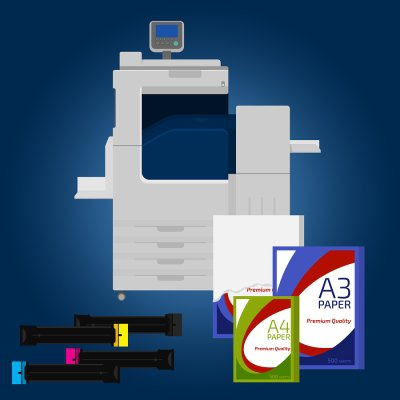 Copystar copier and printer